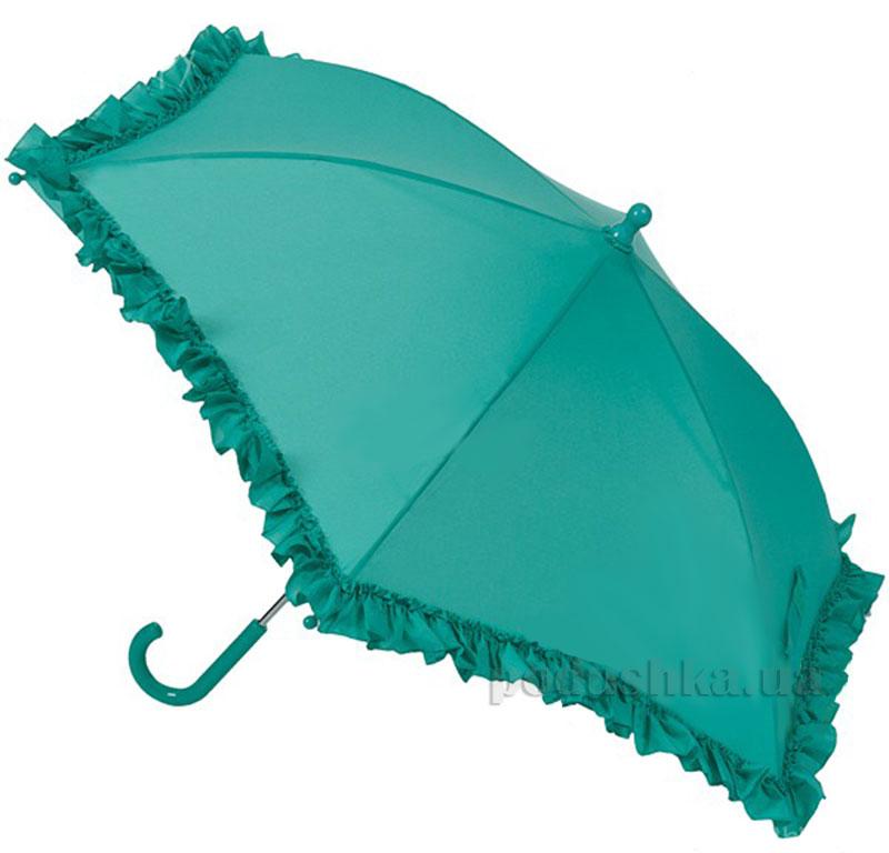 Зонт механический с рюшами Airton 1552 зеленый