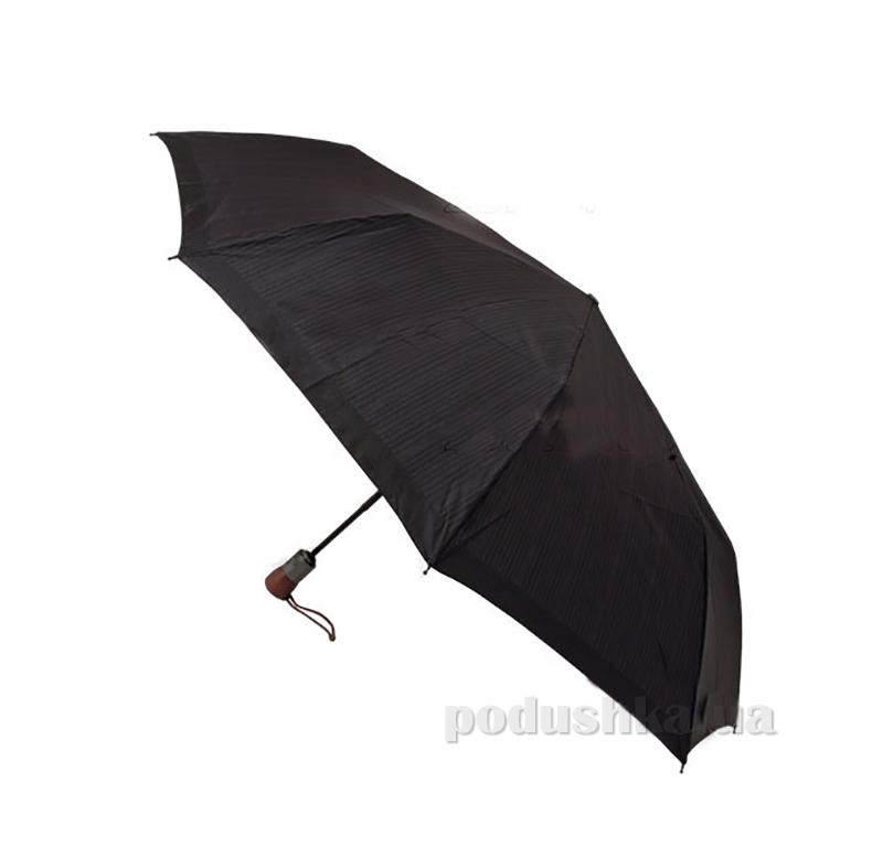 Зонт мужской автомат Zest 43932 черный полоска