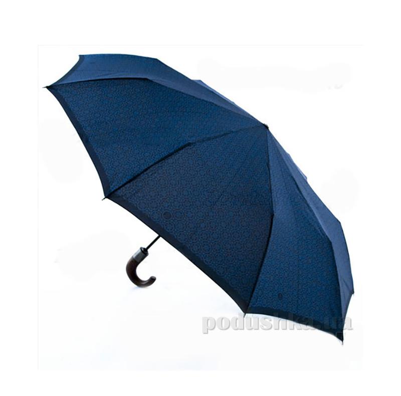Зонт мужской супер-автомат Zest 43942 синий графика Код: 200435