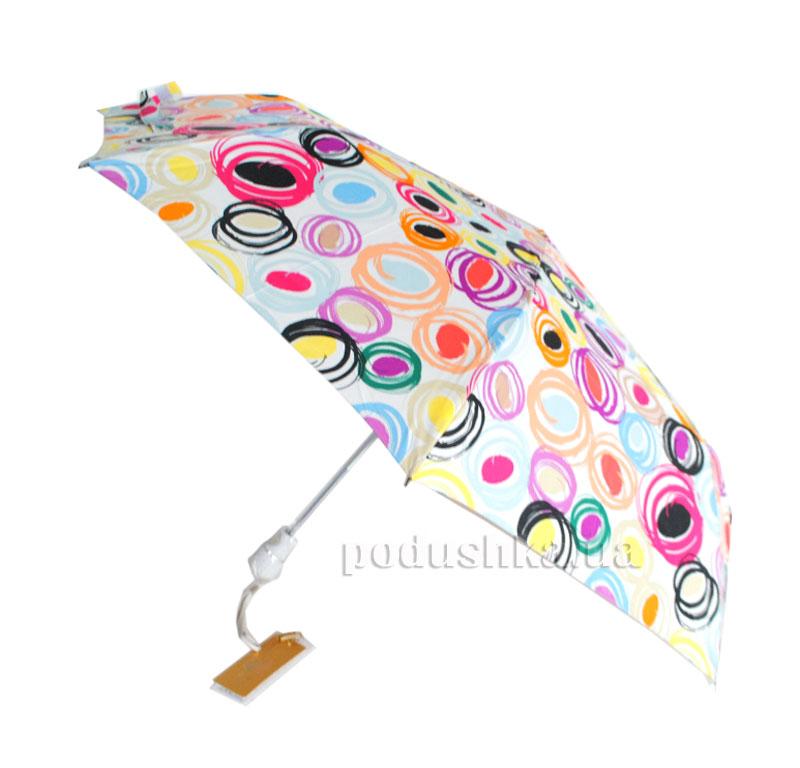 Зонт женский полуавтомат Кружочки Zest 53627