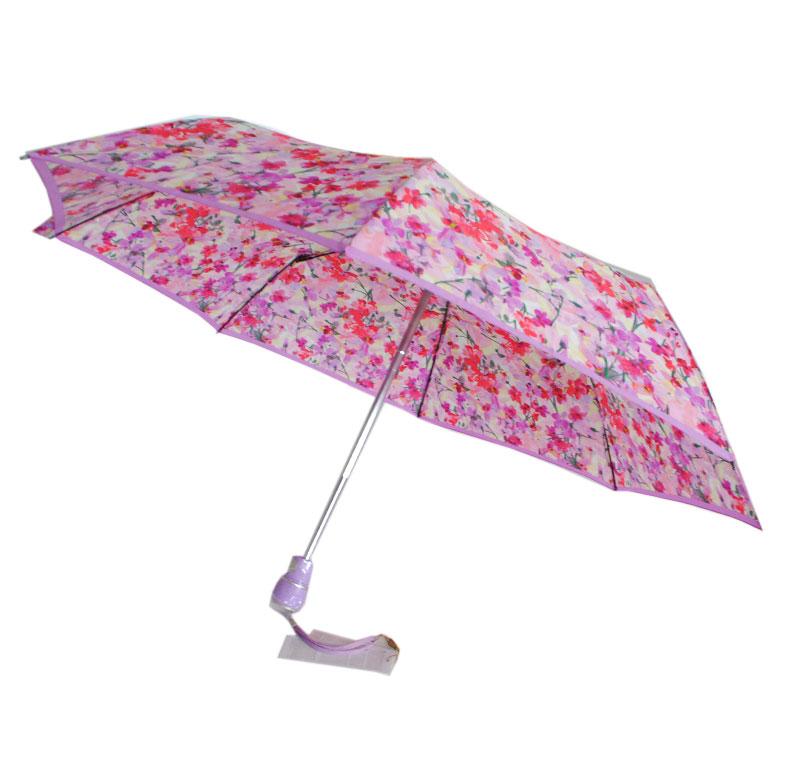 Зонт женский полуавтомат Цветущий сад Zest 53627