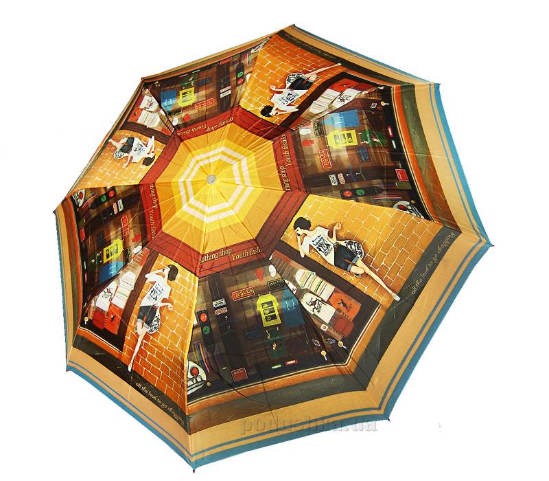 Зонт женский Zest автомат-3 сложения 53626-776