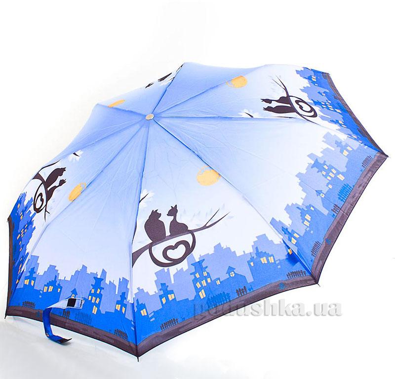 Зонт женский Zest автомат-3 сложения 53626 Ночь