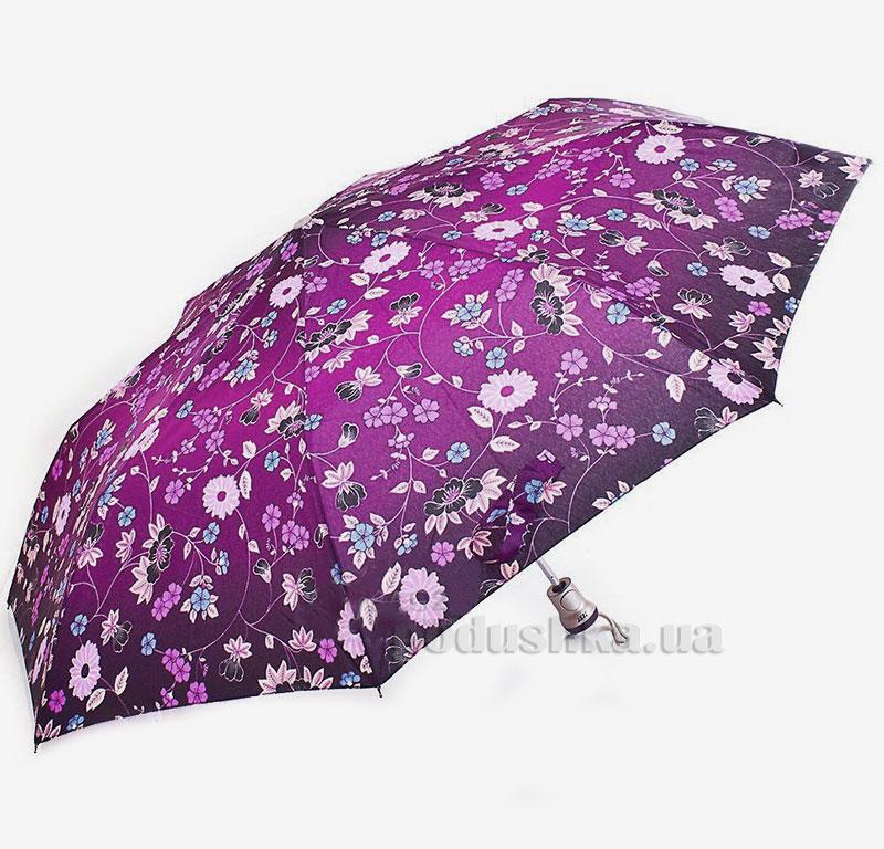 Зонт женский Zest автомат-3 сложения 53626 Принт