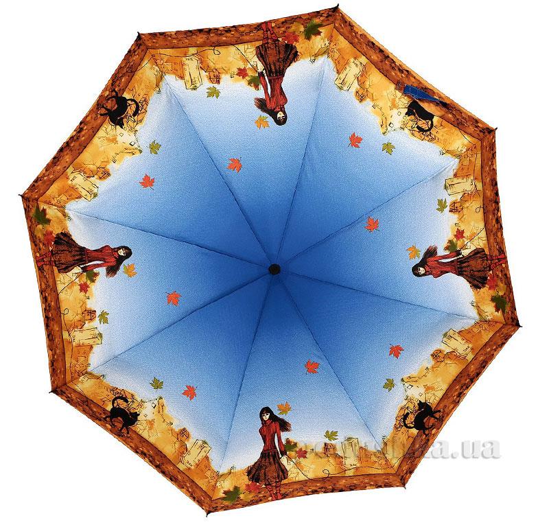 Зонт женский Zest автомат-3 сложения 53626 Прогулка
