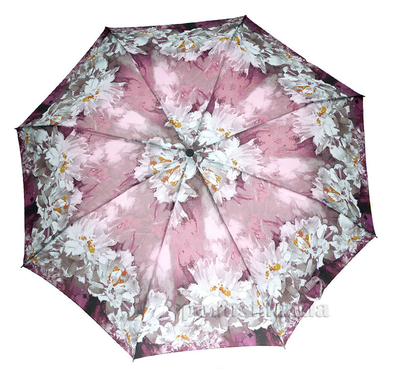 Зонт женский Zest автомат-3 сложения 53626 Цветы
