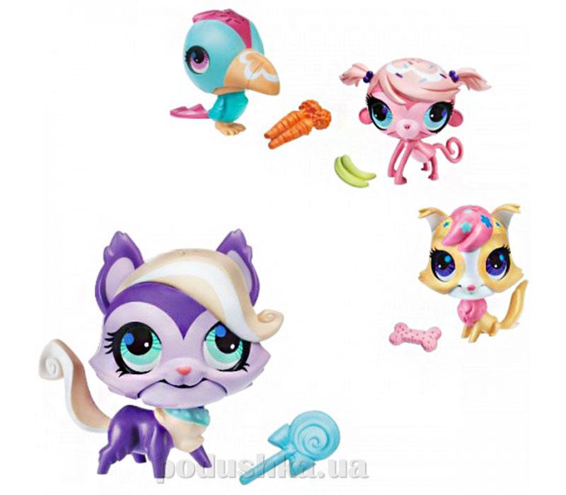 Зверюшка - любитель сладостей Hasbro Littlest Pet Shop