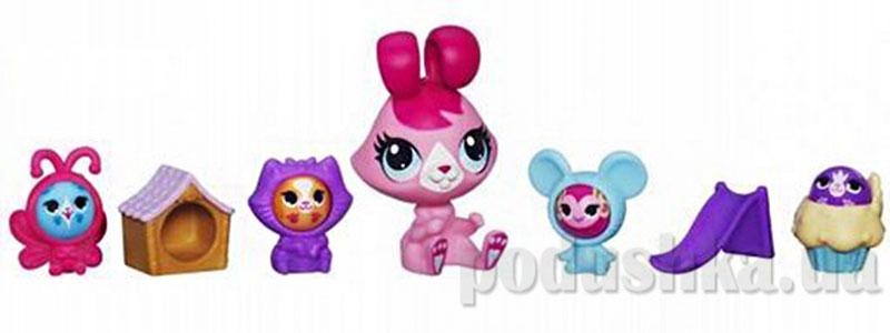 Зверюшка и малыши-кругляши Hasbro Littlest Pet Shop