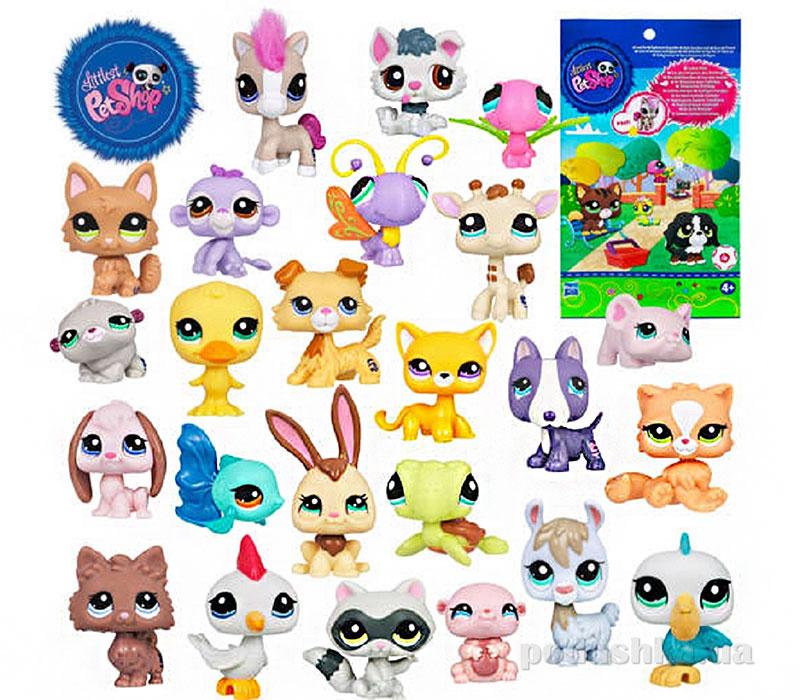 Зверюшка в закрытой упаковке Hasbro Littlest Pet Shop