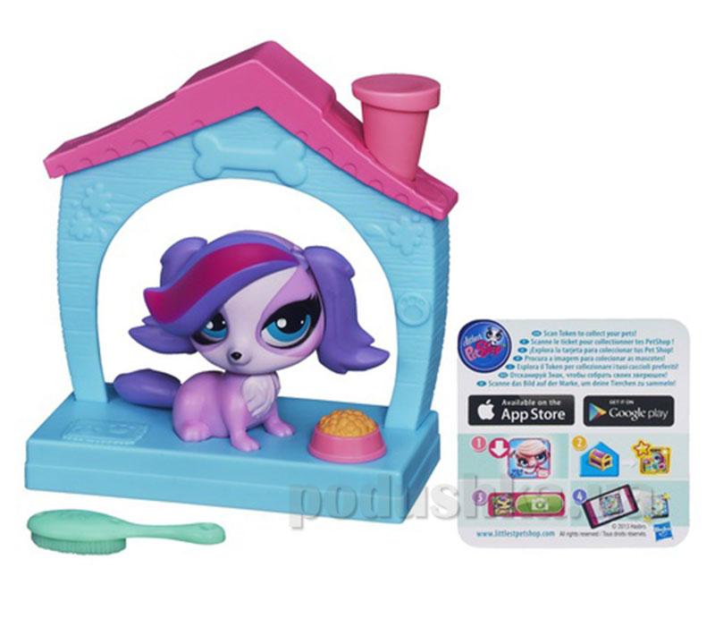 Зверюшки с волшебным механизмом и аксессуаром Hasbro Littlest Pet Shop