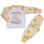 Пижама для мальчика теплая Витуся 1002017