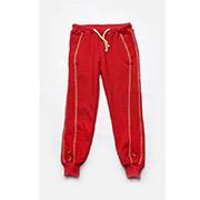 Брюки для девочек спортивные Модный карапуз 03-00570 красные