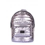 Рюкзак стеганый Poolparty Backpack theone silver Рюкзак стеганый Poolparty Backpack theone silver