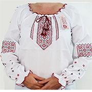 Вышитая сорочка для девочек Bimbissimi ВСД 14-01