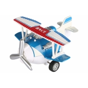 Самолет металический инерционный Same Toy Aircraft синий SY8013AUt-2