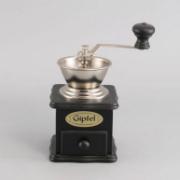 Кофемолка ручная черная  (дерево) 9226