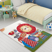 Коврик в детскую комнату Confetti Lion king оранжевый