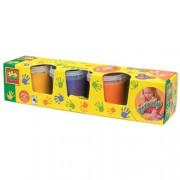 Набор гуаши - Рисуем пальцами, ультрамодная 4 цвета