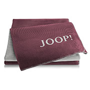 Плед Joop! Melange-DF Bordeaux-graphit
