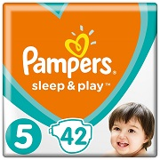 Подгузники Pampers Sleep & Play Размер 5 Junior 11-16 кг, 42 шт 8001090784674