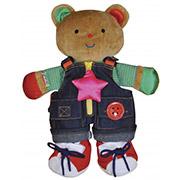 Мишка Учимся одеваться Ks Kids 10462