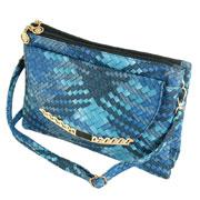 Сумка женская Traum 7212-35 синяя с голубым