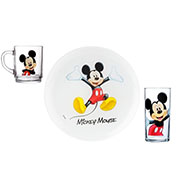 Набор посуды Luminarc Mickey Colors 3 предмета
