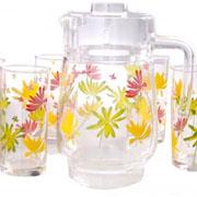 Комплект для напитков Luminarc CRAZY FLOWERS
