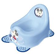 Детский горшок Мышонок Prima-baby голубой