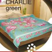 Простынь махровая Le Vele Charlie Green