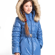 Куртка для девочки Bembi КТ100 плащевка