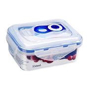 Вакуумный контейнер для хранения продуктов Gipfel 134x103x63 мм (пластик) 350 мл