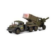 Игровой набор Технопарк Зил-131 Град Военный с пушкой CT-10-001-M-CT1112