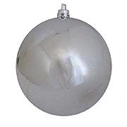 Елочный шар серебряный глянец Новогодько 971707