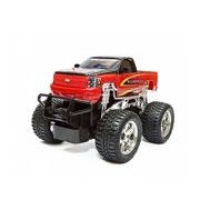 Автомобиль на р/у 1:24 Chevy Silverado (black/red) или Jeep Wrangler (silver/black)