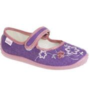 Тапочки детские Waldi Вероника 29-42 фиолетовые