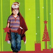 Плед-накидка детский Le Vele Santa Claus
