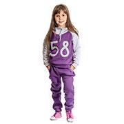 Спортивный костюм 58 Kids Couture фиолетовый