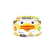 Салфетки влажные антибактериальные для младенцев в пласт. коробке (45шт) 733358