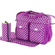 Набор сумок для мам Traum 7010-34 фиолетовый