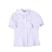 Школьная блуза с короткими рукавами Юность 288 белая