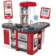 Интерактивная кухня Тефаль Студио большая с эффектом кипения красная Smoby
