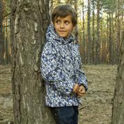 Куртка-жилет для мальчика Модный карапуз 03-00597 серая