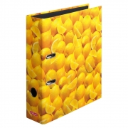 Папка-регистратор Herlitz А4 8см World of Fruit Lemon 10546901