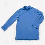 Гольфик для мальчика рубчик Модный Карапуз 03-00615 голубой