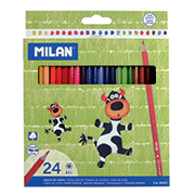 Карандаши цветные Milan 24 цветов ml.80024
