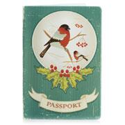 Обложка для паспорта ZIZ Снегирь ZIZ-10075