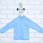 Гольф для мальчика Татошка 02602 голубой интерлок
