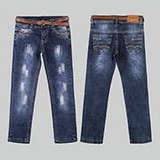 Штаны джинсовые для девочки Бемби ШР396
