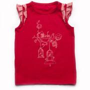 Топик для девочки Модный карапуз 03-00518 красный